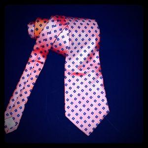 Vintage Italian silk necktie late 60s
